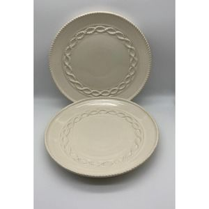 Two serving plates by porcelain treasure